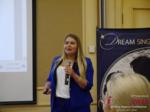 Valentina Gutarova - CEO of Ukrainian Real Brides at the 48th iDate Premium International Dating & Dating Agency Negócio Trade Show